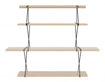 Bolia designové nástěnné police X-Shelf Small