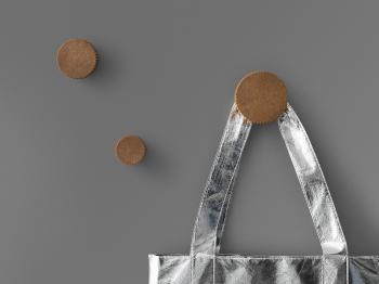Normann Copenhagen designové nástěnné věšáky Chip Hook Small