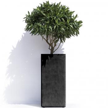 Pots designové květináče Barcelona R (32 x 32 cm)