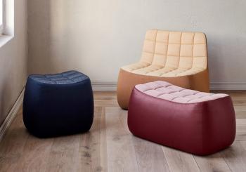 Northern designové stoličky Yam Pouf Small
