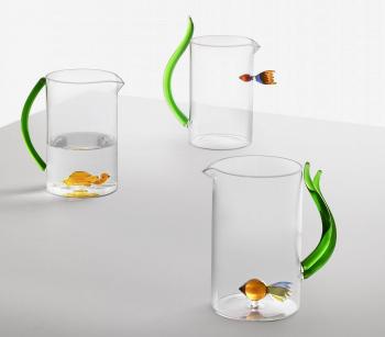 Ichendorf Milano designové džbány Animal Farm Fish In&Out Jug