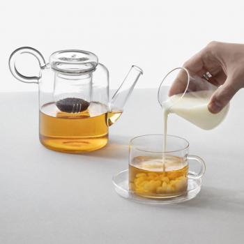 Ichendorf Milano designové konvice Piuma Teapot Low