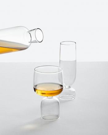 Ichendorf Milano designové sklenice na šampaňské Kokeshi Flute