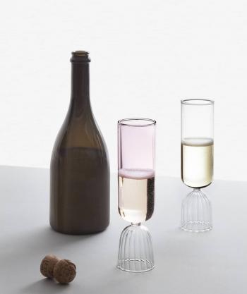 Ichendorf Milano designové sklenice na šampaňské Tutu Flute