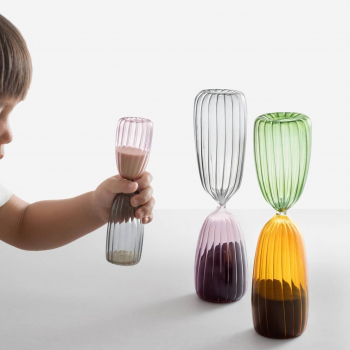 Ichendorf Milano designové přesýpací hodiny Times Hourglass (5 min)