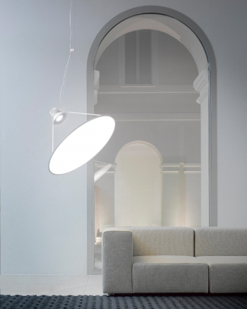 Luceplan designová závěsná svítidla Amisol (průměr 75 cm)