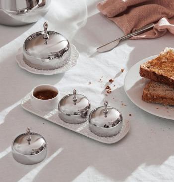 Alessi designové dózy na máslo Dressed Butter Dish