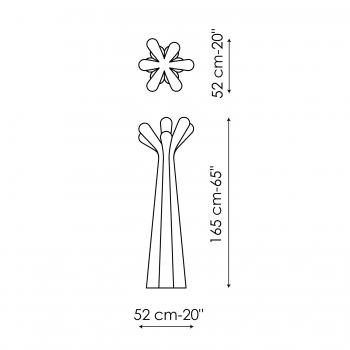Bonaldo designové stojací věšáky Anemone