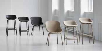 Normann Copenhagen designové barové židle Hyg Barstool Chair 65 cm