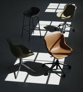 Normann Copenhagen designové židle Hyg Swivel Chair