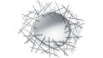 Alessi designové zrcadla Blow Up Mirror