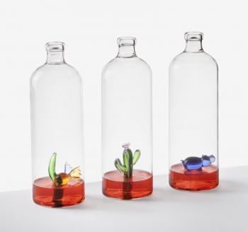 Ichendorf Milano designové karafy Animal Farm Bottle with Fish