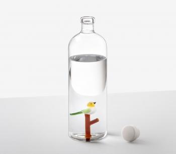 Ichendorf Milano designové karafy Animal Farm Bottle with Bird