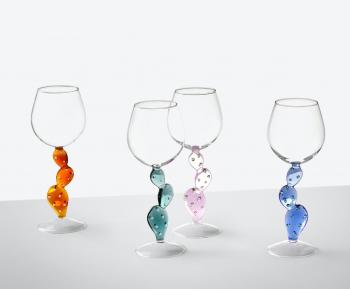 Designové sklenice na víno Desert Plants Wine Glass