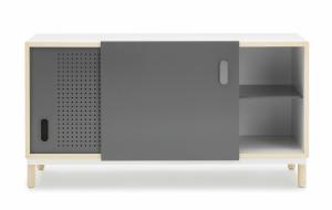 Výprodej Normann Copenhagen designové komody Kabino (šedá, jasan)