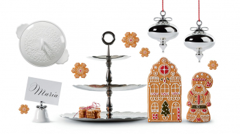 Alessi designové podnosy Dressed Three-dish stand