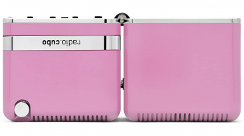 Výprodej Brionvega designová rádia Ts522D (růžová)
