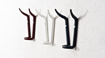 Výprodej Essey Designové nástěnné věšáky Ferdinand (3 ks, červená)