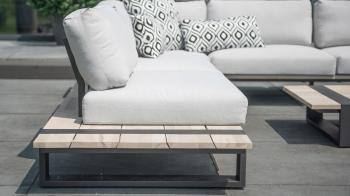 4Seasons Outdoor designové zahradní sedačky Duke (centrální element)