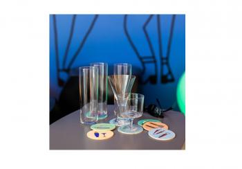 Designové sklenice na šampaňské ICHENDORF MILANO Aurora Flute Glass