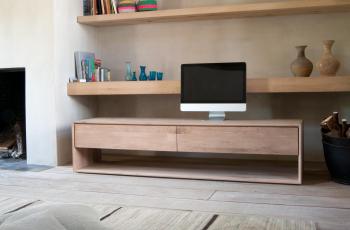 Ethnicraft designové skříňky pod televize Nordic TV Cupboard small