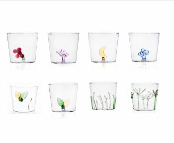 Ichendorf Milano designové sklenice na vodu Greenwood Green Grass Tumbler