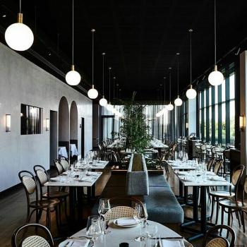 Ferm Living designová závěsná svítidla Collect Opal Shade Sphere Tall