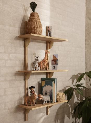 Ferm Living designové dřevěné hračky Animal Cheetah