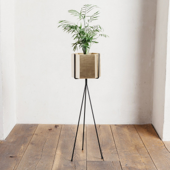 Ferm Living designové stojany na květináče Plant Stand Low