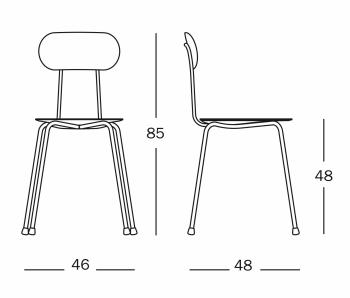 Magis designové židle Mariolina
