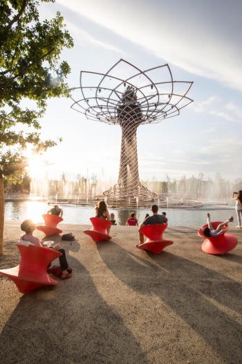 Designová zahradní křesla MAGIS Spun Chair