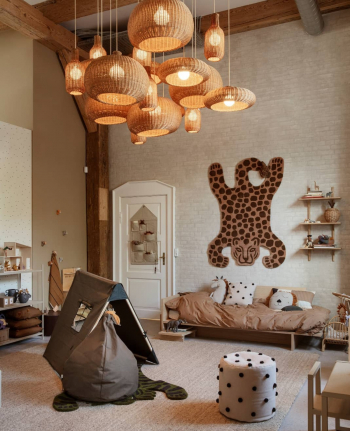 Ferm Living designové dětské stoličky Dot Tufted Pouf
