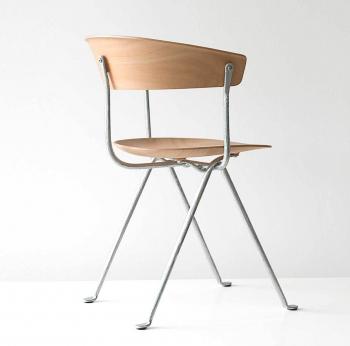 Výprodej Magis designové židle Officina Chair (pozinkovaná šedá)