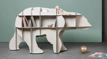 Ibride designové knihovny Junior
