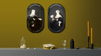 Ibride designové obrazy/ podnosy La Parade/ Maerten