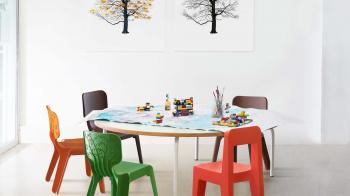 Magis Me Too designové dětské židle Seggiolina Pop