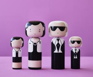 Lucie Kaas designové figurky Kokeshi Dolls Karl