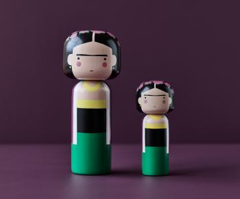 Lucie Kaas designové figurky Kokeshi Dolls Salvador