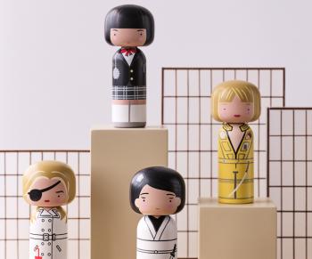 Lucie Kaas designové figurky Kokeshi Dolls Jackie Brown