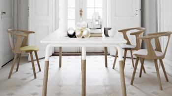 Výprodej &tradition designová židle In Between Chair (světlý dub)