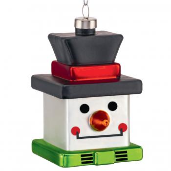 Alessi designové vánoční ozdoby Snow Cube