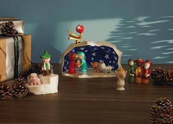 Alessi designové vánoční ozdoby Pastorello