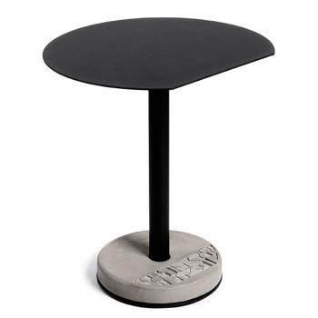 Lyon Beton jídelní stoly Donut Round Bistro Table In Black