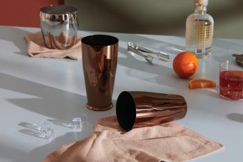Alessi designový Cocktail Shaker Solar Eclipse
