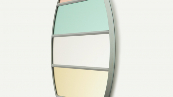 Magis designová zrcadla Vitrail Rectangular (50 x 50 cm)