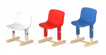Magis Me Too designové dětské židle Little Big Chair (výška sedáku 26 cm)