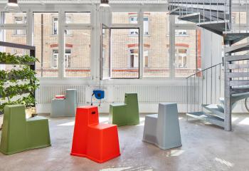 Vitra designové židle Stool-Tool