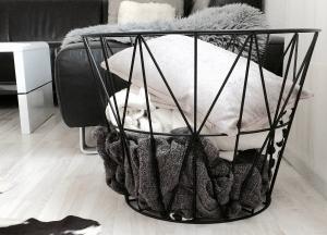 Ferm Living designové úložné koše Wire Basket S