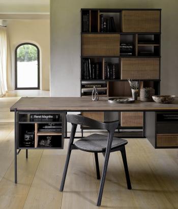 Ethnicraft designové pracovní stoly Oscar Desk