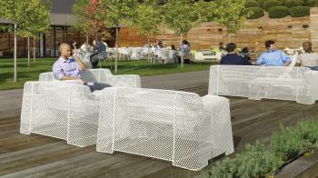 Emu designové zahradní stoly Ivy Coffee Table